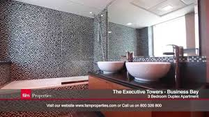 3 Bedroom Apartments For Sale In Dubai Business Bay Executive Tower J Luxury 3 Bedroom Duplex