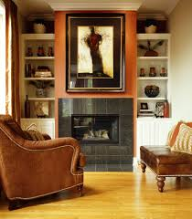 chicago tile fireplace designs living room contemporary with wall