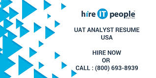 Uat Tester Resume Sample by Uat Analyst Resume Hire It People We Get It Done