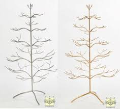 brilliant ideas ornament display tree trees 25 silver or