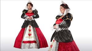 Halloween Queen Hearts Costume Images Size Red Queen Halloween Costume Ace Clubs Card