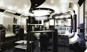 modern and futuristic fashion store interior design ideas on