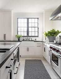 black and white kitchen ideas best 25 black white kitchens ideas on marble kitchen