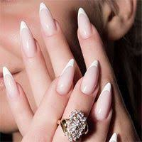 examples of different nail shapes for french manicures square