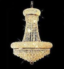 Chandelier With Crystal Balls Bohemian Crystal Chandelier Foyer Gold Plated Finish Page 1