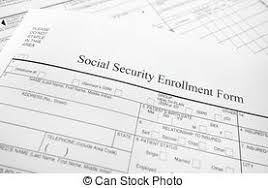 stock image of denied social security disability application