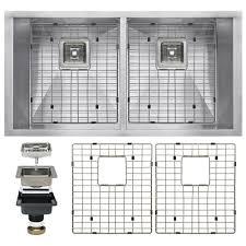 Home Depot Floor Plans by Sterling Ludington Undermount Stainless Steel 32 In 60 40 Split