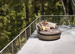 sunset circular outdoor patio couch victory furniture