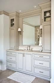 bathroom vanities ideas bathroom vanities with side towers like the storage on either side