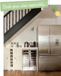 Kitchen Design With Basement Stairs Tone On Tone Our Basement Renovation I Love This Area Under The