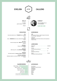 Resume Good Examples by Awesome Resume Examples 11 Resume By Evelien Callens 70 Well