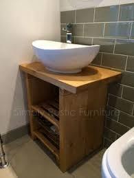 Shabby Chic Bathroom Vanity Unit by Bathroom Vanity Unit Furniture 600 Wide Wash Stand Oak Cabinet