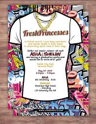 fresh prince graduation party birthday baby shower hip hop