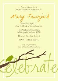 Avery Invitation Cards Customizable Bridal Shower Invitations Vertabox Com
