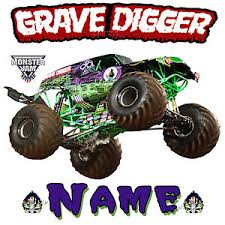 images of grave digger monster truck new grave digger monster truck jam show personalized t shirt