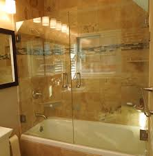 bathtub shower doors bathroom design ideas glass frameless loversiq