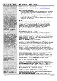Database Developer Sample Resume by Pl Sql Resume For 3 Years Of Experience Free Resume Example And