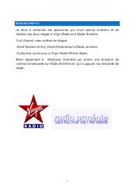 11 Exemple De Cv 3eme Rapport De Stage De 3e Radio Radio Arménie