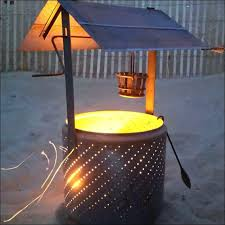 Making Fire Pit From Washer Tub - washer barrel fire pit u2013 jackiewalker me