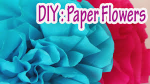 diy crafts how to make crepe paper flowers very easy ana