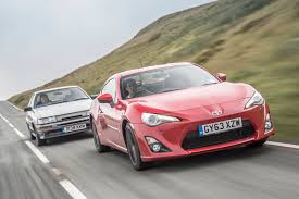 toyota new sports car toyota sports cars past and present ae86 vs gt86 toyota