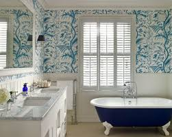 bathroom wallpaper ideas uk bathroom wall paper wall shelves