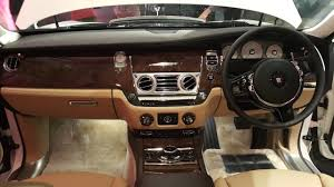 rolls royce interior 2017 rolls royce ghost series ii launched in chennai