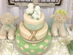 sheep lambs baby shower party ideas photo 4 of 16 catch my party