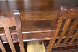 indian wood dining table indian sheesham solid wood dining table and four chairs lovely