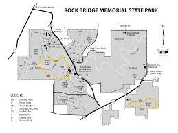 missouri caves map rock bridge memorial state park trail map planned spontaneity