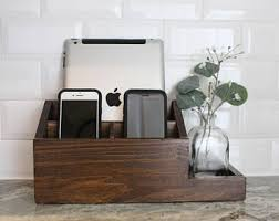 Desk Valet Charging Station Etsy Your Place To Buy And Sell All Things Handmade