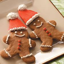 Delicious Christmas Gingerbread Cookies Decorations And Design