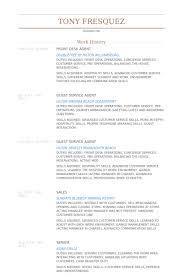 Resume Examples For Customer Service Skills by Front Desk Agent Resume Samples Visualcv Resume Samples Database