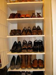 Closet Shoe Organizer by Interesting Shoe Closet Organizer Do Yourself Roselawnlutheran