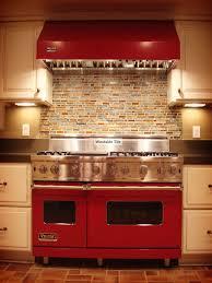 red kitchen tile backsplash painting backsplashes pictures ideas