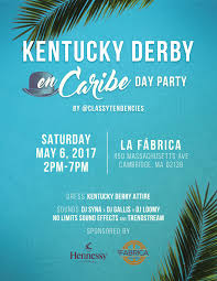 kentucky derby en caribe day party tickets sat may 6 2017 at 2