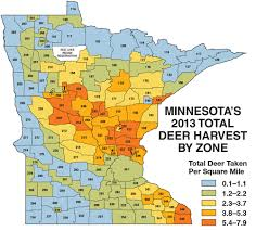 Montana Hunting Maps by Minnesota Deer Hunting Forecast For 2014 Game U0026 Fish