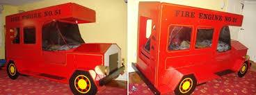 Fire Truck Bunk Bed Woodwork Fire Engine Bunk Bed Plans Pdf Plans