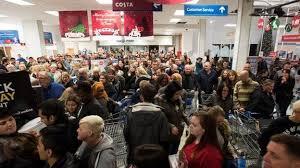uk black friday black friday sales at tesco put u0027pressure u0027 on police bbc news