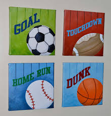 Sports Themed Wall Decor - wall art designs sports wall art canvas wall art sports and