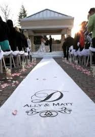 personalized wedding aisle runner wedding ideas aisle runner weddbook