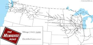 map us railroads 1860 the milwaukee road
