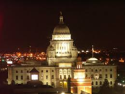 panoramio photo of the rhode island state house at night
