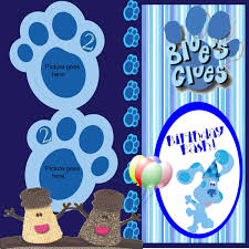blues clues challenge digital scrapbooking at scrapbook flair