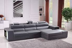 Mini Sectional Sofas Vig Furniture Divani Casa Polaris Mini Collection