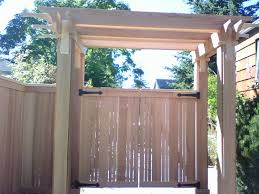 Trellis Seattle West Seattle Fence Cedar Chain Link And Iron Fencing Seattle Wa
