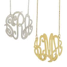 Monogrammed Necklace Sarah Chloe Izara Cutout Necklace Mark And Graham