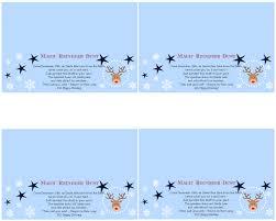 magic reindeer food poem with free printables home with