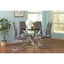 Dining Chairs With Casters Upholstered Dining Chairs With Casters