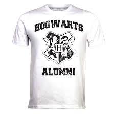 hogwarts alumni tshirt harry potter hogwarts alumni shirt white limited stock on